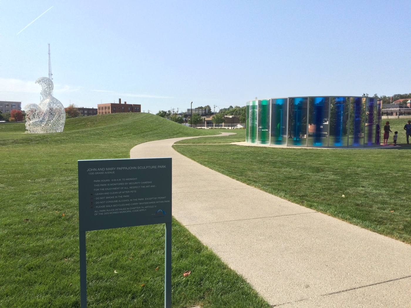 Pappajohn sculpture park des moines ia get out and travel for Craft stores des moines